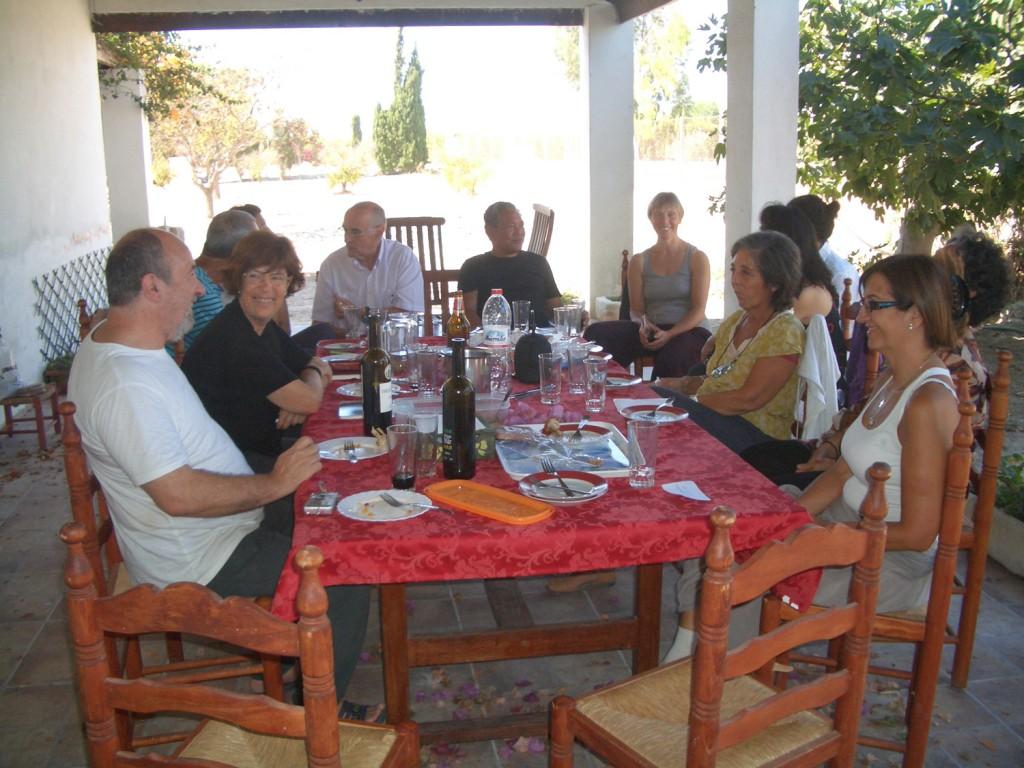 Comida Fundación Asociación Vinyana