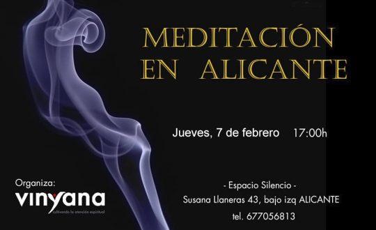 Vinyana Alicante meditación 07 febrero