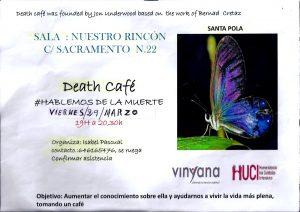 Vinyana Alicante-Santa Pola-Death Cafe-Marzo-2019