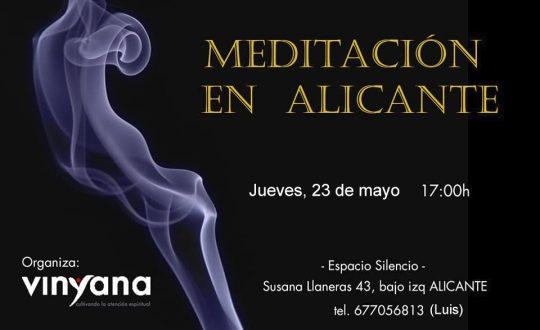 Vinyana Alicante-Meditación- Mayo-2019