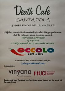 SantaPola-DhepCoffe, cartel